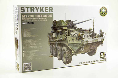 AFV Club 1/35 M1296 Stryker Dragoon Infantry Carrier Vehicle