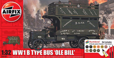 Airfix 1/32 Ww1 B Type Bus Ole Bill Starter Set