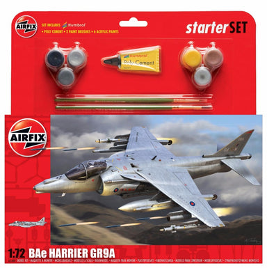 AIRFIX 1/72 BAE HARRIER GR9A STARTER SET