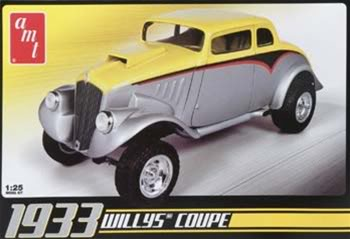 Amt 1/24 33 Willys Coupe