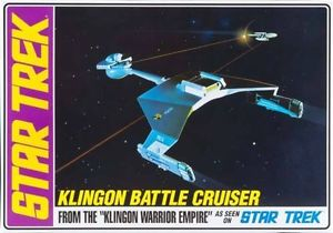 Amt 1/650 Star Trek Klington Battle Cruiser Std Ed Plastic Kit