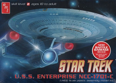 Amt 1/1400 Star Trek Enterprise 1701-C Plastic Kit