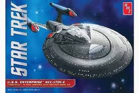 Amt 1/1400 Star Trek Enterprise 1701-E Plastic Kit
