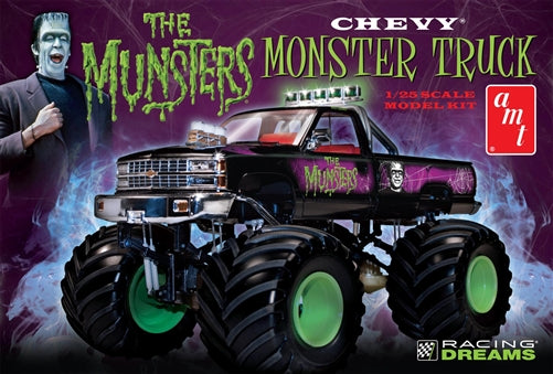 Amt 1/25 The Munsters Chevy Monster Truck