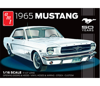 Amt 1/16 1965 Mustang Plastic Kit