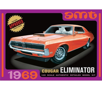 Amt 1/25 1969 Cougar Eliminator Plastic Kit