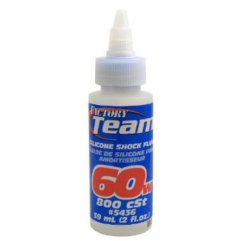 Team Associated Silicone Shock Oil 60 Weight 50ml