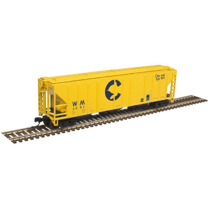 Atlas N PS-4472 Covered Hopper Chessie #4683