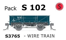 Austrains Neo S Truck Pack S 102 Wire Train PTC Teal