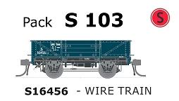 Austrains Neo S Truck Pack S 103 Wire Train PTC Teal