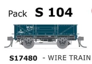 Austrains NEO NSWGR S Truck Wire Train S17480 Single Car S104