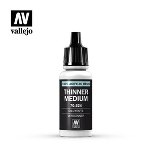 Vallejo Modelcolor Thinner Medium 17ml