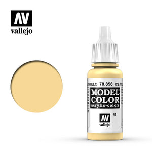Vallejo Modelcolor Ice Yellow 17ml
