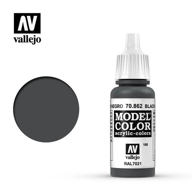 Vallejo Modelcolor Black Grey 17ml