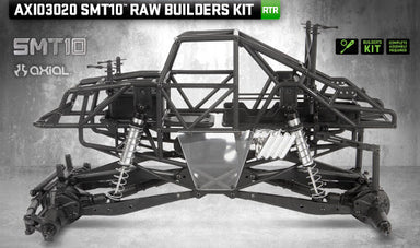 Axial 1/10 SMT10 Scale Monster Truck Raw Builders Kit