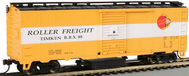 Bachmann HO Track Cleaning 40ft Boxcar with Removable Dry Pad - Ready to Run - Silver Serie - Timken