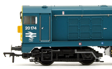 Bachmann OO BR Class 20/0 Headcode Box 20174 Blue with Domino Headcode Boxes Diesel Locomotive