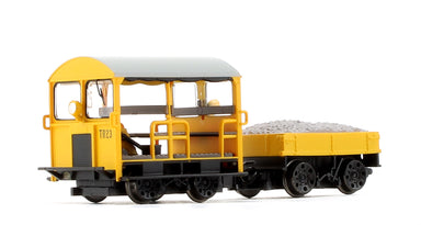 Bachmann OO BR Wickham Type 27 Trolley Car Engineers Yellow