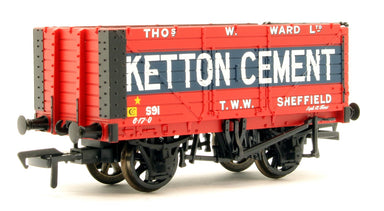 Bachmann OO 8 Plank Wagon End Door Ketton Cement