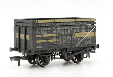 Bachmann OO 7 Plank Wagon With Coke Rails Cory Brothers P Number Weathered