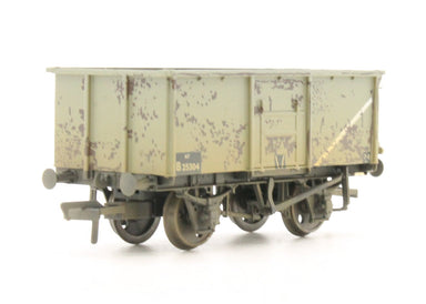 Bachmann OO 16 Ton Steel Mineral Wagon Br Grey - Weathered