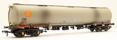 Bachmann OO BR 102T TEA Bogie Tank Wagon Shell(BR Railfreight Petroleum Sector Grey Weathered