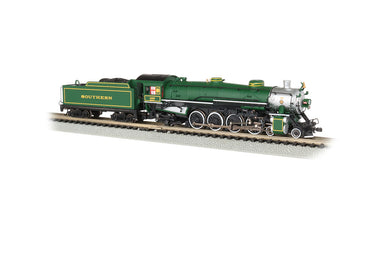Bachmann N 4-8-2 Light Mountain - Sound and DCC - Southern Railway #1489 (green, silver)