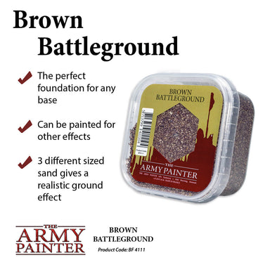 Army Painter BF4111 Brown Battleground - Basing