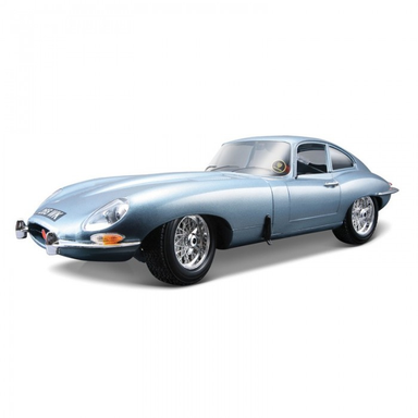 Bburago 1/18 1963 Jaguar E-Type Coupe Metallic Blue