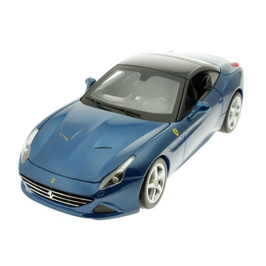 Bburago 1/18 Ferrari California T Closed Top Blue