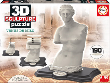 Educa 3D Sculpture Puzzle Venus De Milo 190 pc