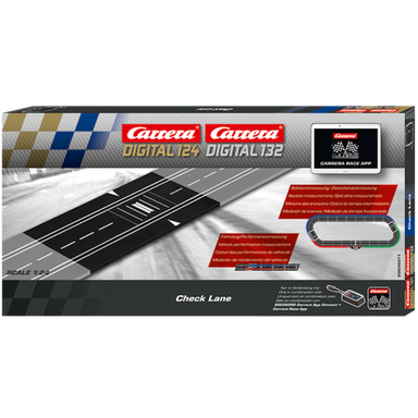 Carrera Digital 1/32 - 1/24 Check Lane for Split Time Measurement
