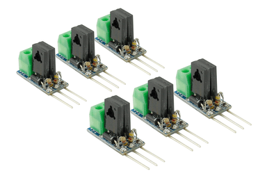 DCC Concepts DCC Decoder Converter 3 Wire To 2 Wire (6 Pack)