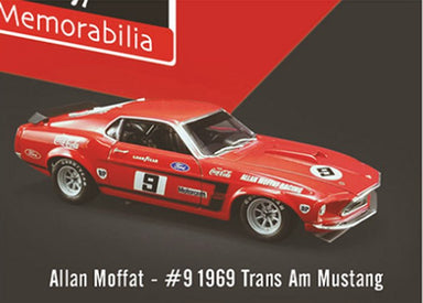 DDA 1/64 No.9 1969 Trans Am Mustang Allan Moffat Collection Red