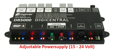 Digikeijs Dr5000-Adj DCC Multi-Bus Central Command Station