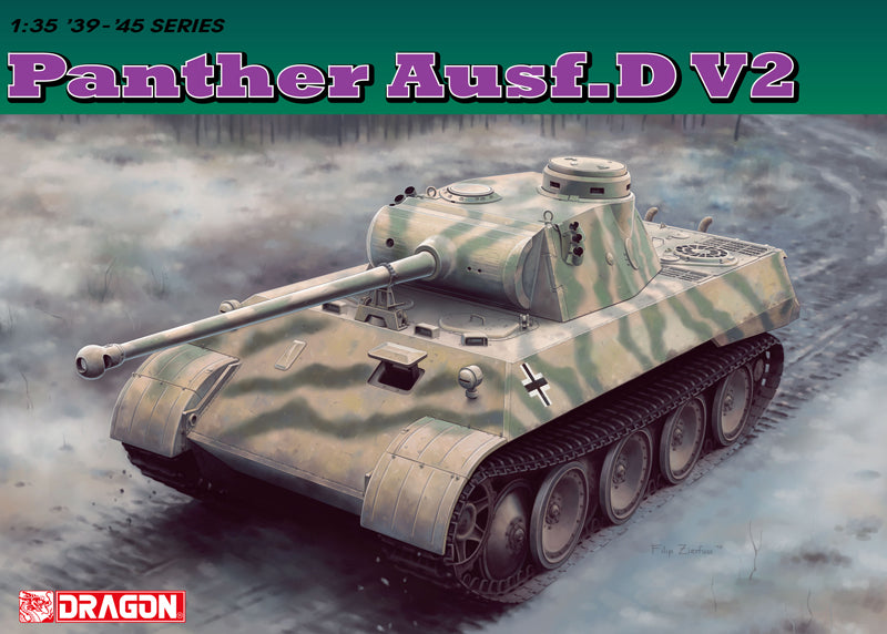 Dragon 6822 1/35 Panther Ausf.D V2