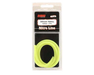 Dubro 2230 Silicone Fuel Tube 2Ft Yellow