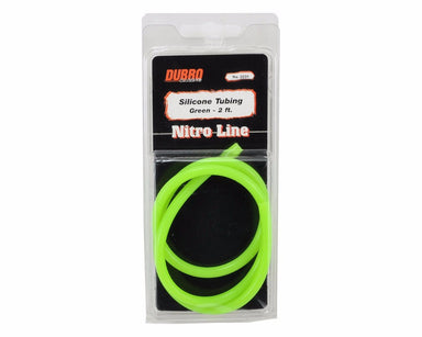 Dubro 2231 Silicone Fuel Tube 2Ft Green