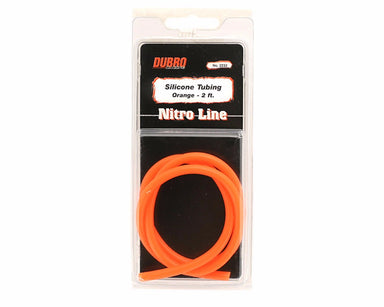 Dubro 2232 Silicone Fuel Tube 2Ft Orange