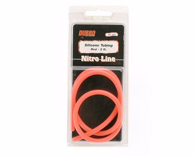 Dubro 2234 Silicone Tube 2Ft Red
