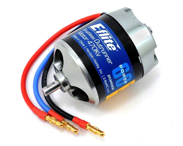E-Flite Power 60 Brushless Outrunner Motor 470Kv