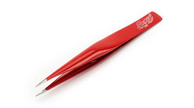Excel Hollow Point Tweezers, Red