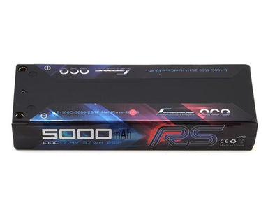 Gens Ace 5000mAh 2S 7.4V 100C Hard Case RS Lipo Battery (Deans Plug)