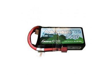 Gens Ace 3600mah 11.4V HV 50C Lipo Battery