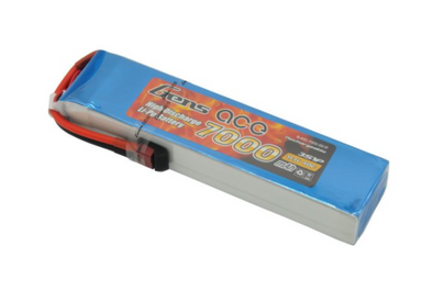 Gens Ace 7000mAh 3S 11.1V 40C Soft Case Lipo Battery (Deans Plug)