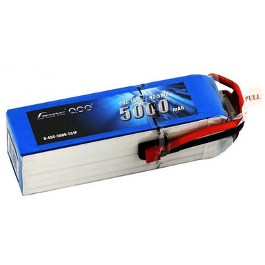 Gens Ace 5000mAh 5S 18.5V 45C Soft Case Battery (Deans Plug)