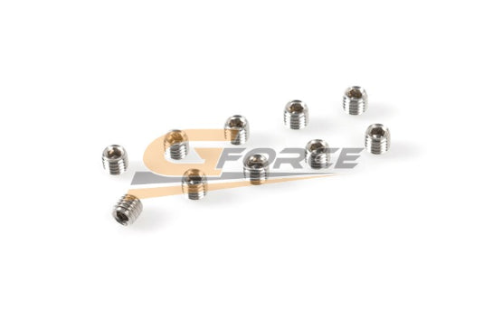 Gforce Set Screw M4X8. Inox 10Pcs