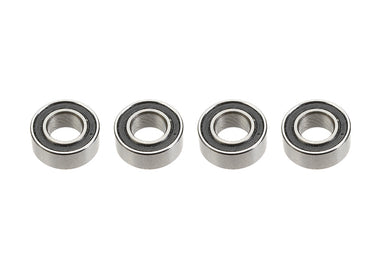 G-Force RC Ball Bearing Chrome Steel ABEC 3 Rubber Shielded 5X10X4 (4)