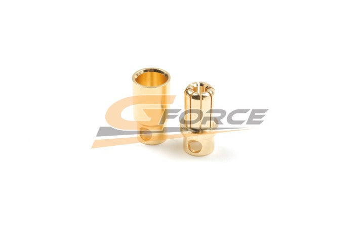 Gforce 8.0mm Gold Connector. Male Plus Female 4Pairs