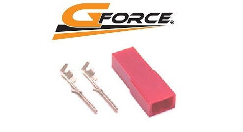 Gforce Bec Connector With Gold Plated Pins Female 4Pcs